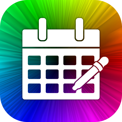 Calendar Color Picker Icon